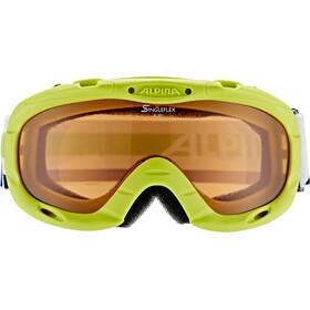 Alpina Ruby S Singleflex Hicon S1 Goggle Kids lime